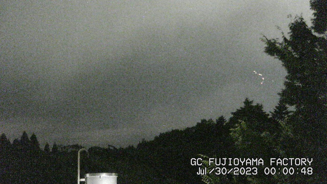 今日の富士山:4日前 AM00:00