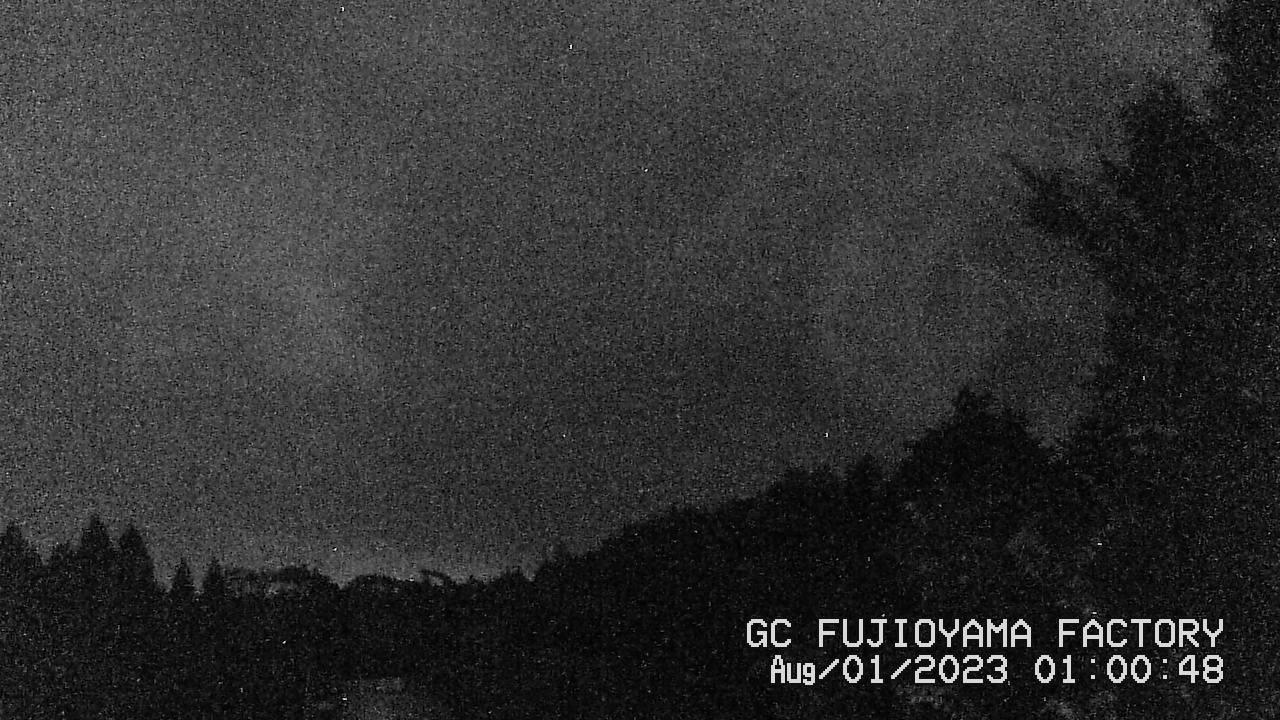 今日の富士山:3日前 AM01:00