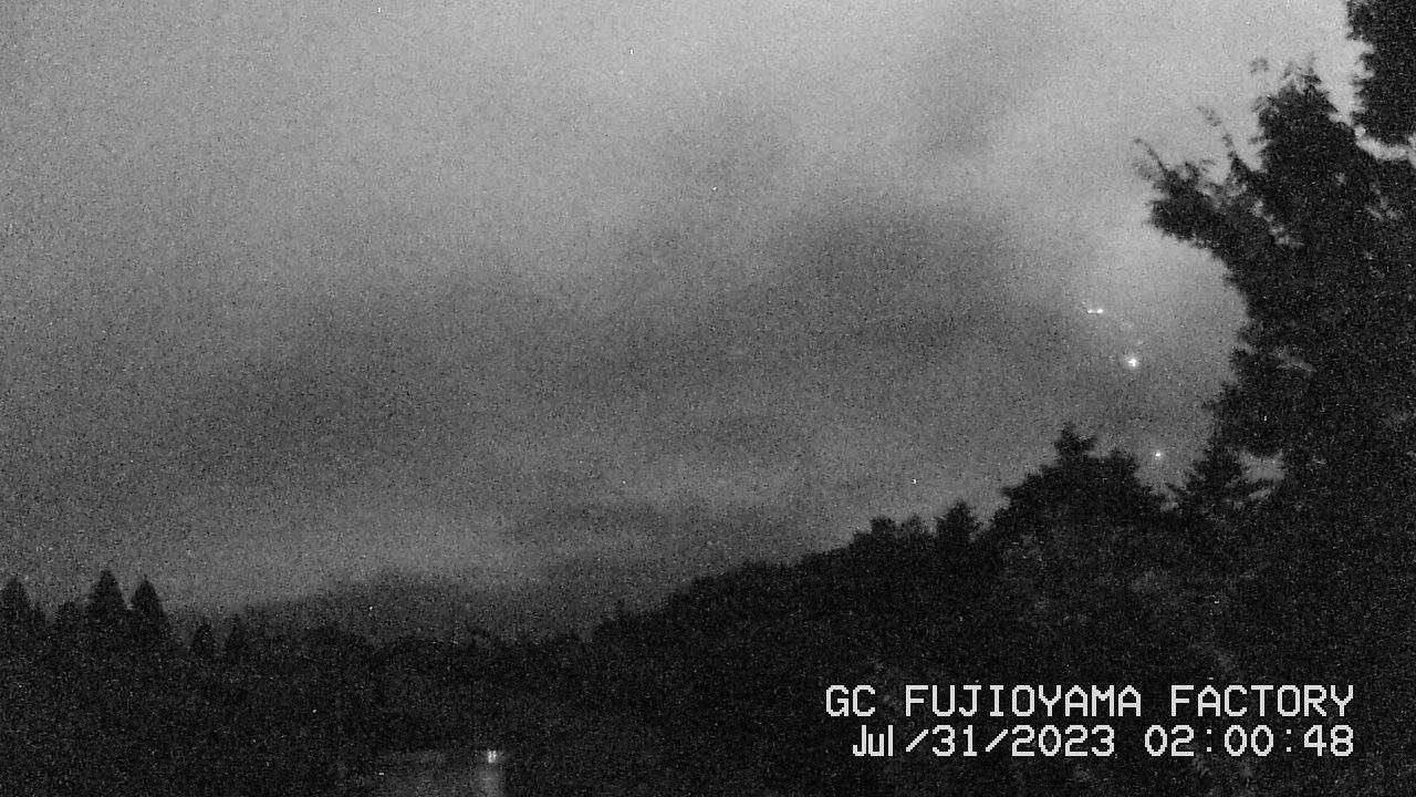 今日の富士山:3日前 AM02:00