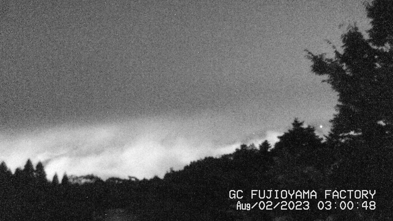 今日の富士山:3日前 AM03:00