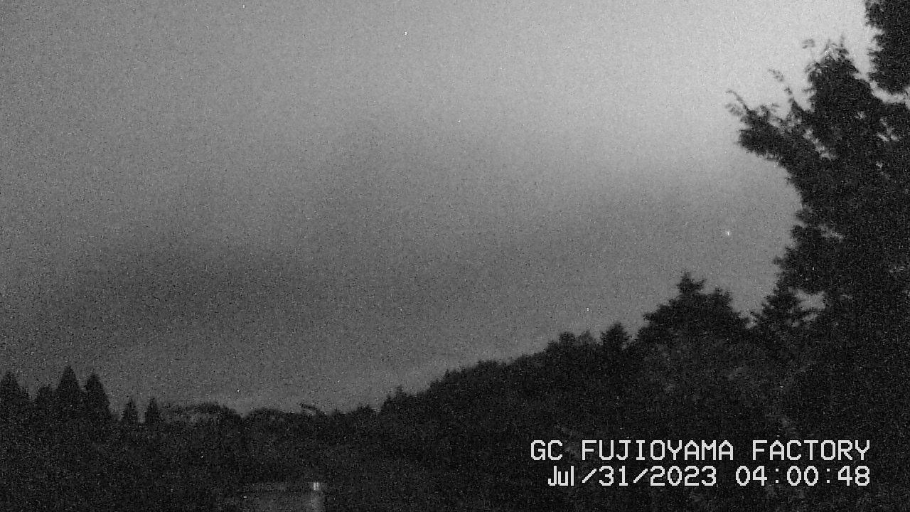 今日の富士山:3日前 AM04:00