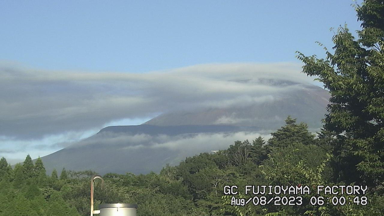 今日の富士山 AM06:00