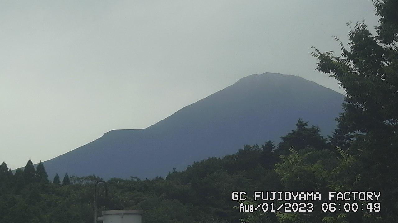 今日の富士山:5日前 AM06:00
