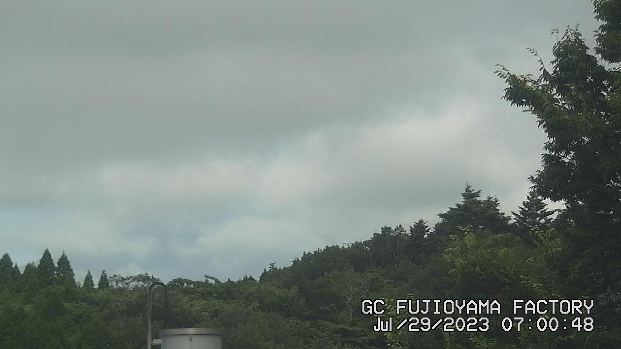 今日の富士山:4日前 AM07:00