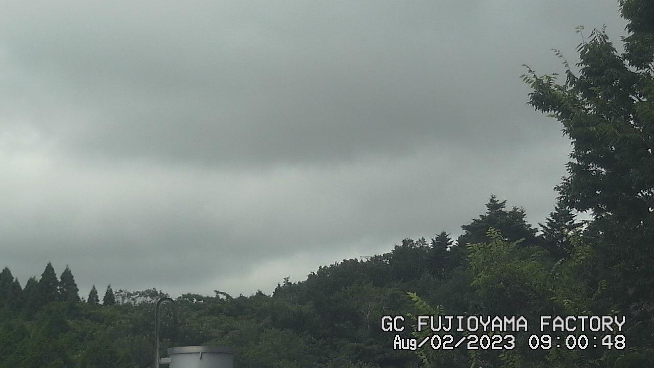 今日の富士山 AM09:00