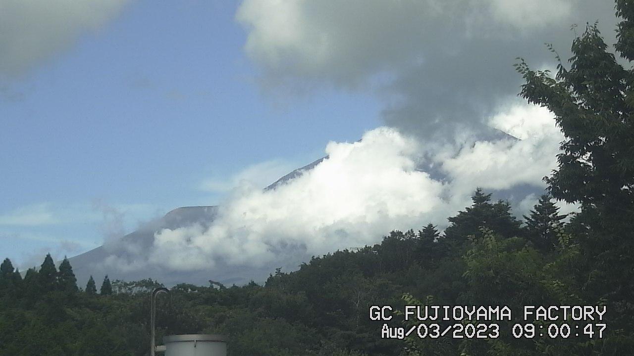今日の富士山:4日前 AM09:00