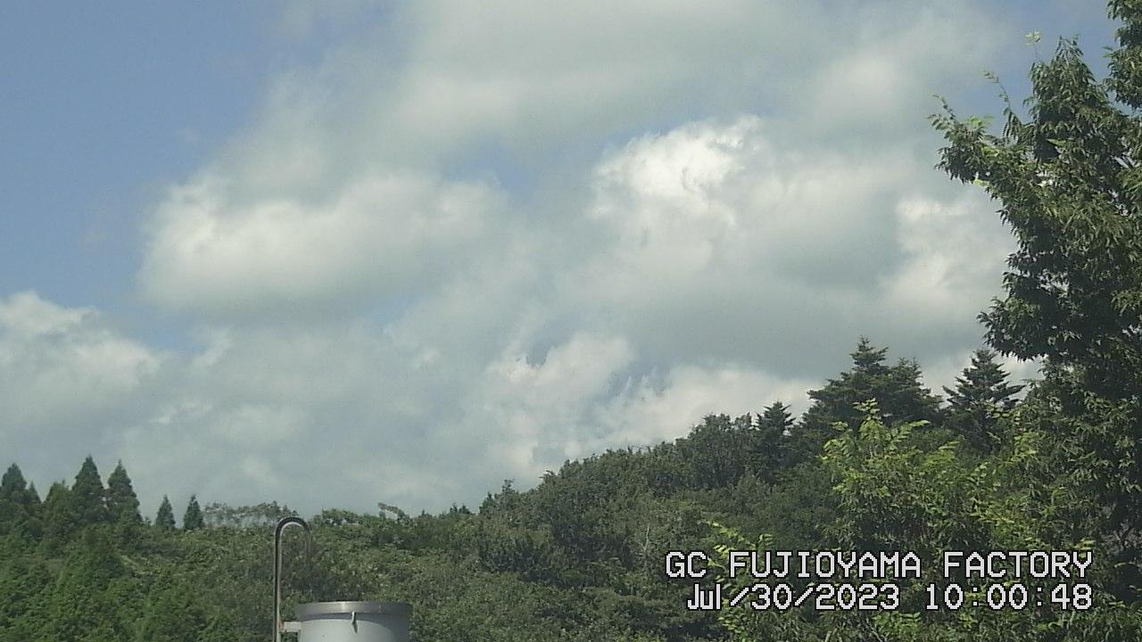 今日の富士山:5日前 AM10:00