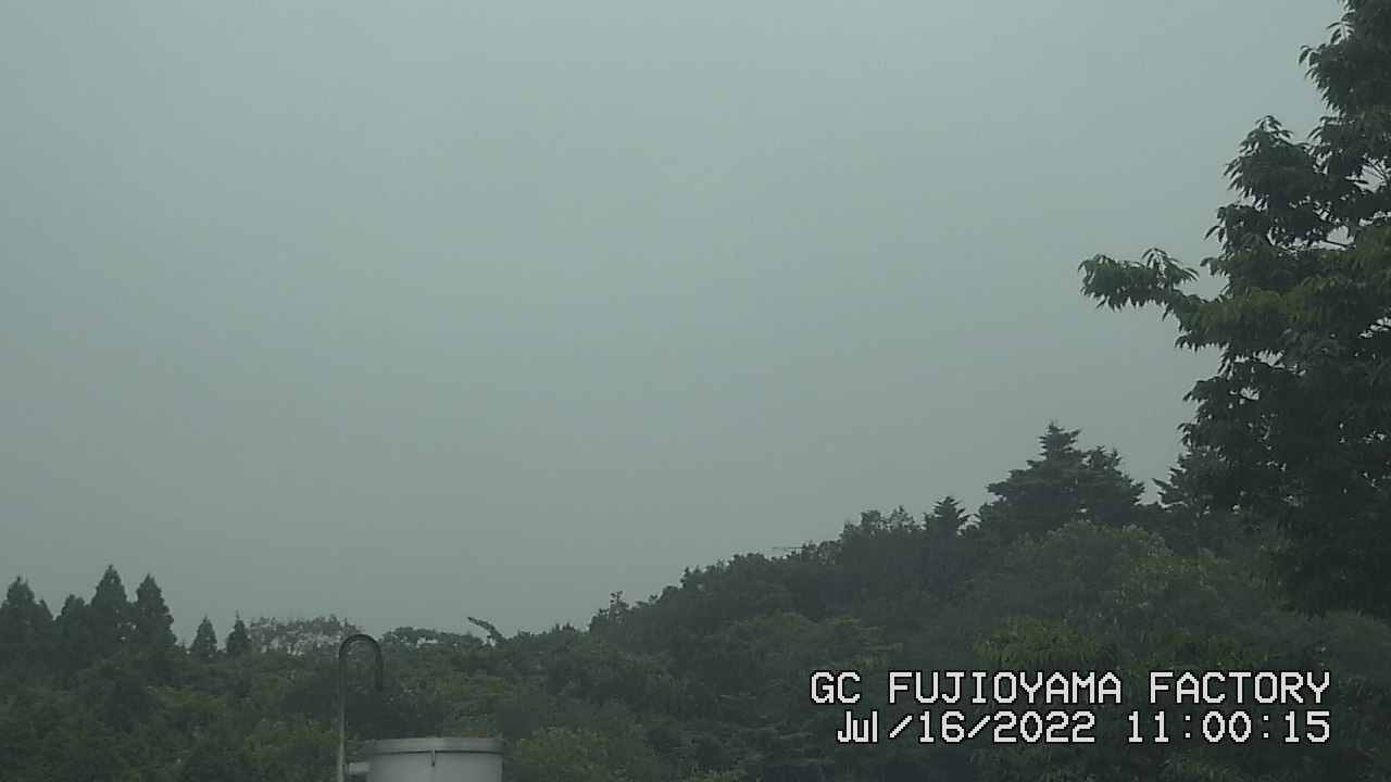 今日の富士山 AM11:00