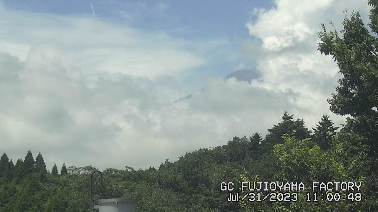 今日の富士山:3日前 AM11:00
