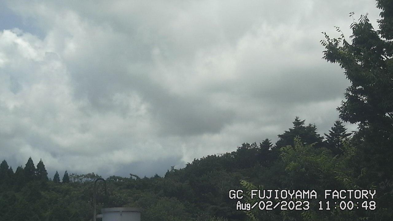今日の富士山:5日前 AM11:00