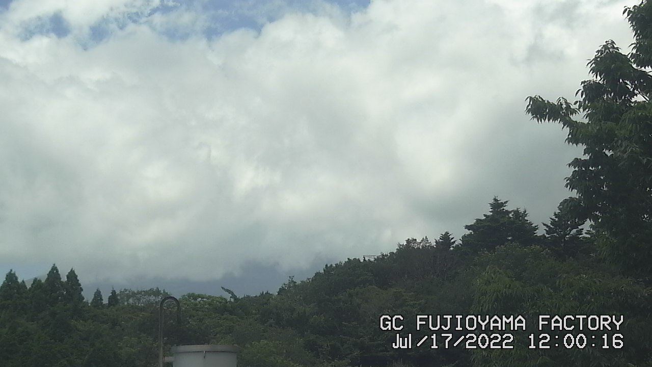 今日の富士山:5日前 PM00:00
