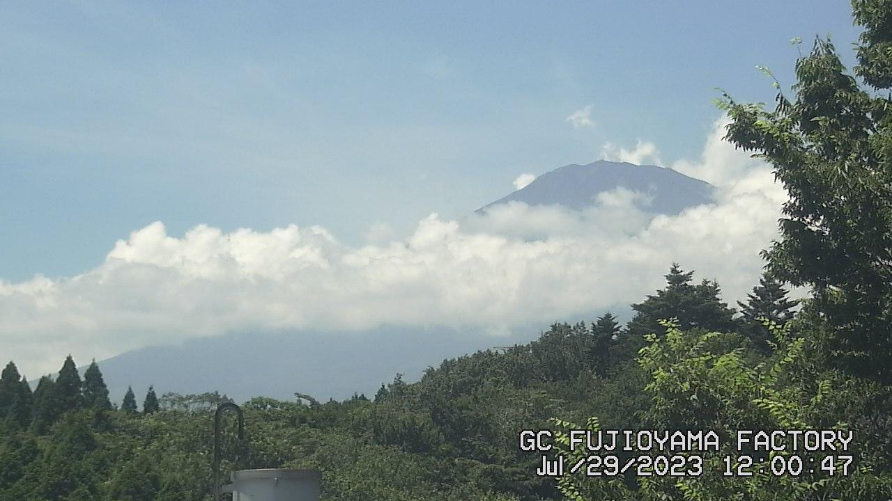 今日の富士山:6日前 PM00:00