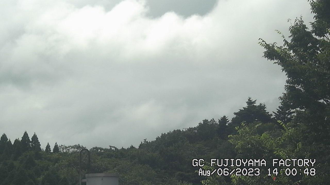 今日の富士山 PM02:00