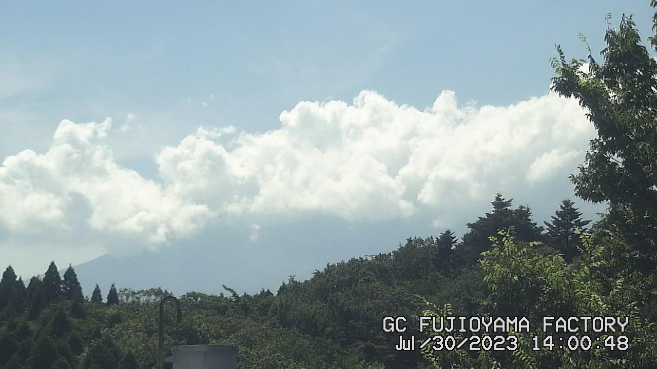 今日の富士山:4日前 PM02:00