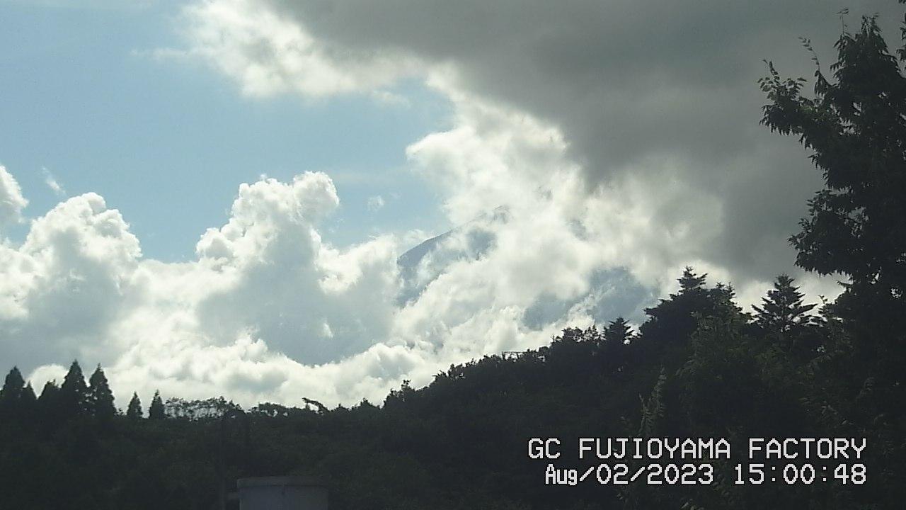 今日の富士山 PM03:00