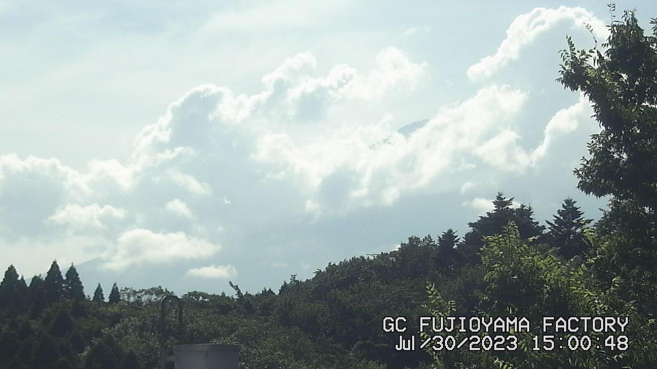 今日の富士山:3日前 PM03:00