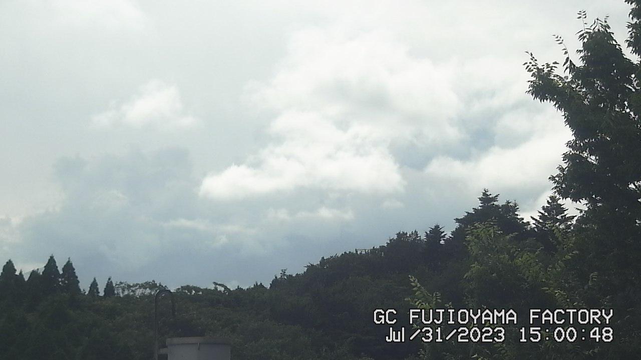 今日の富士山:4日前 PM03:00