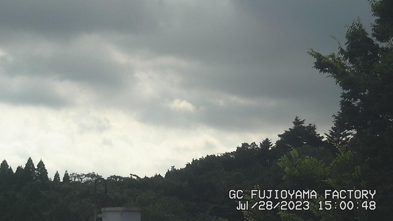 今日の富士山:5日前 PM03:00
