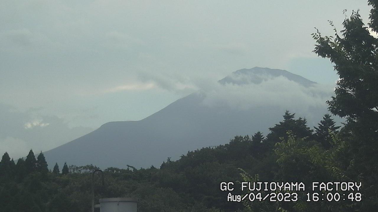 今日の富士山 PM04:00