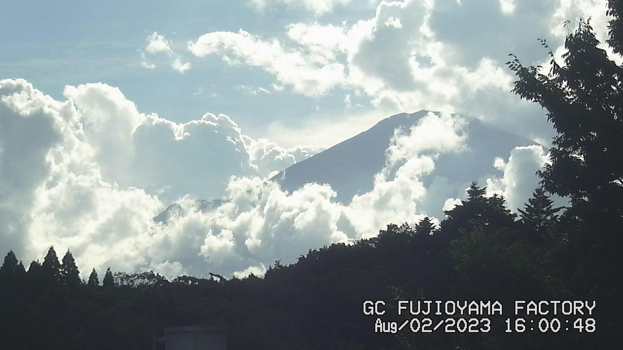 今日の富士山:3日前 PM04:00
