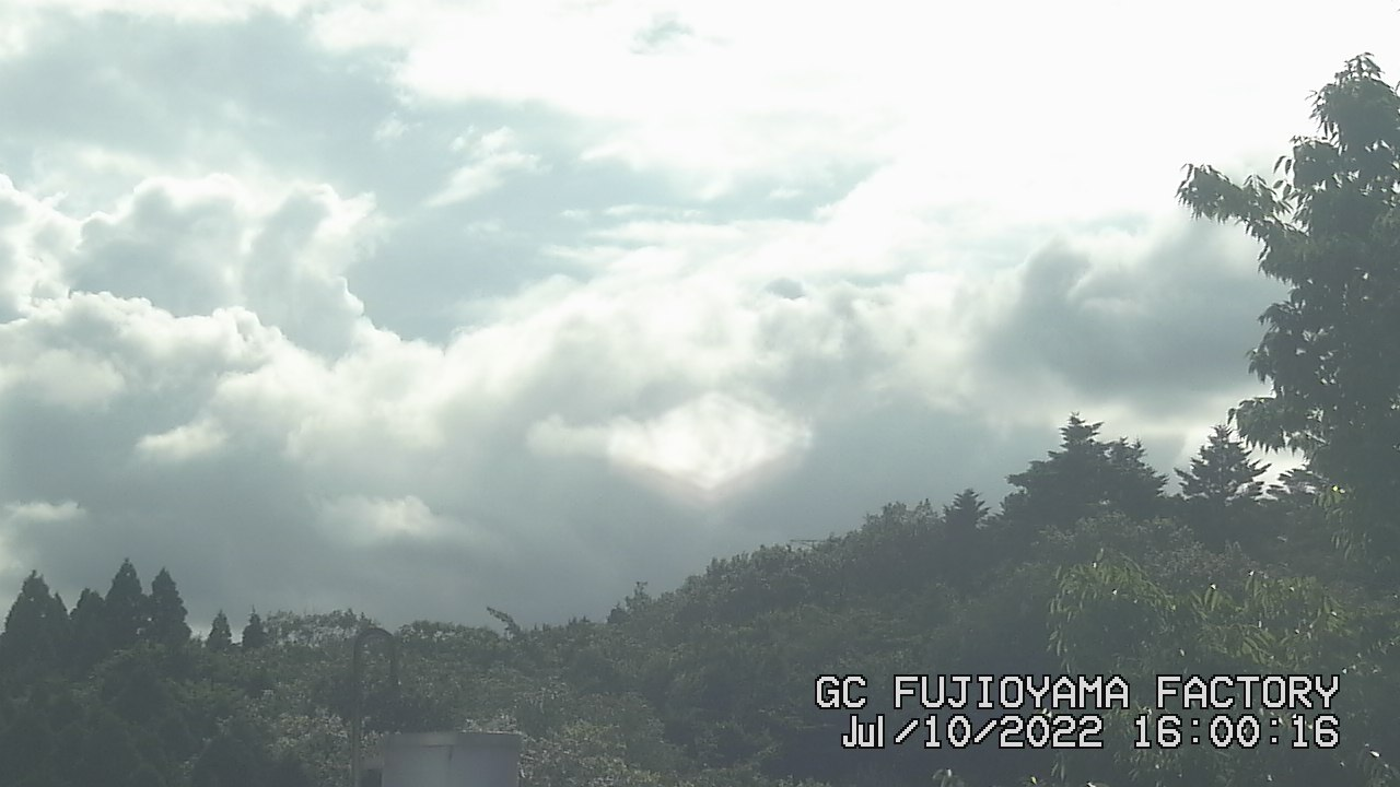 今日の富士山:4日前 PM04:00