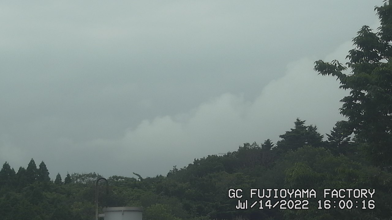 今日の富士山:5日前 PM04:00