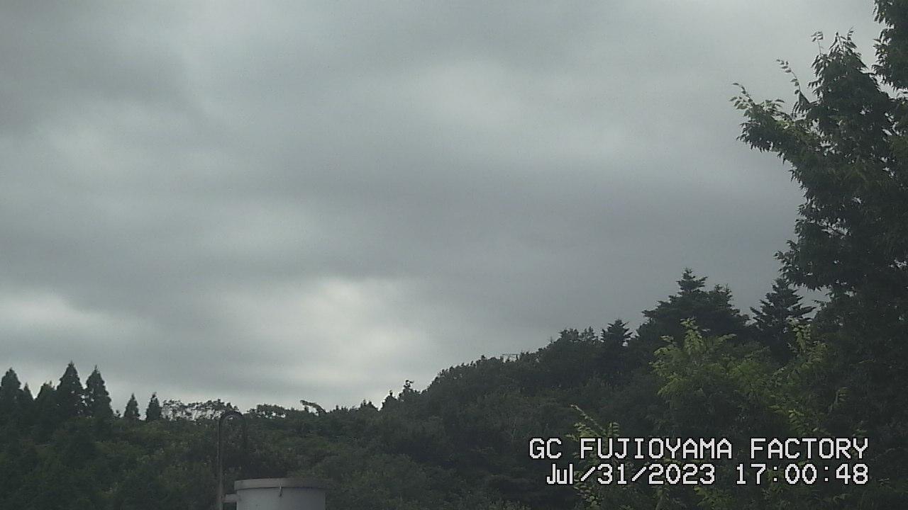 今日の富士山:2日前 PM05:00