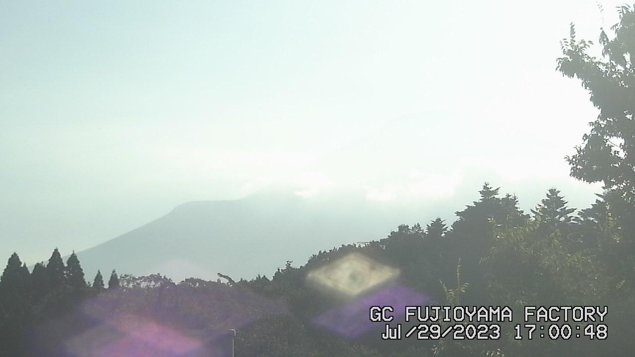 今日の富士山:4日前 PM05:00