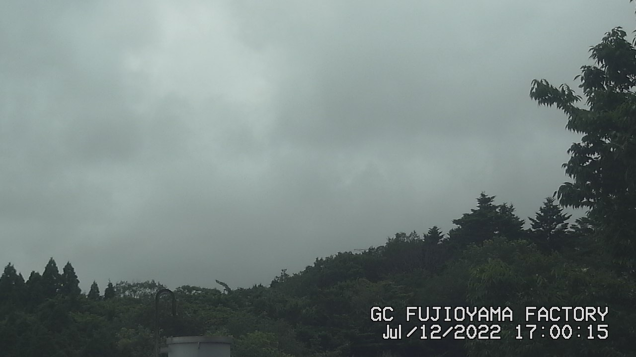 今日の富士山:5日前 PM05:00