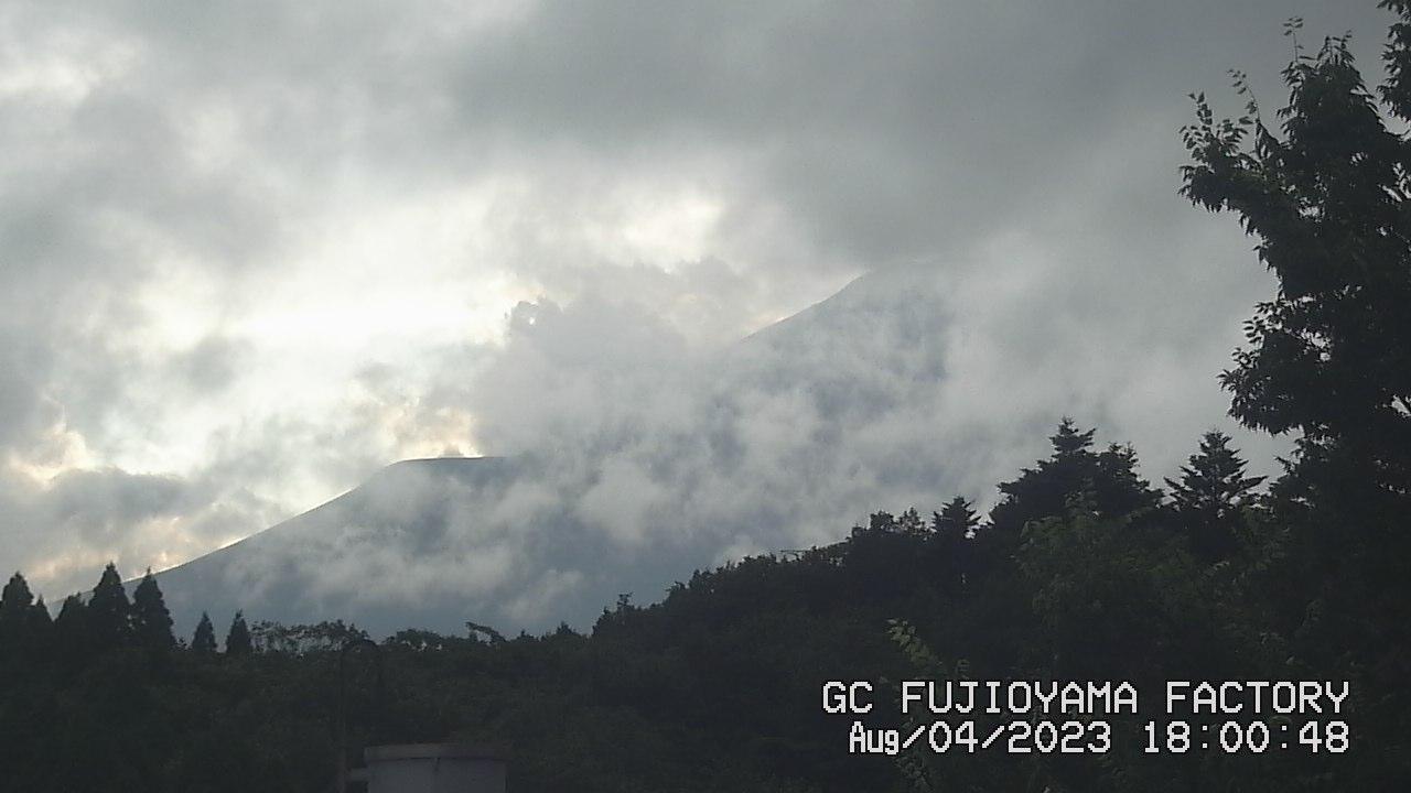 今日の富士山 PM06:00