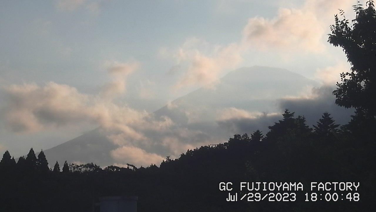 今日の富士山:4日前 PM06:00