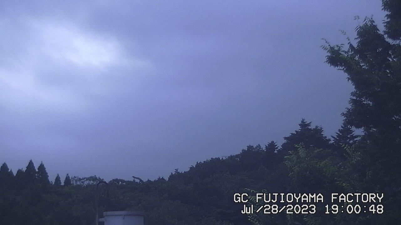 今日の富士山:4日前 PM07:00
