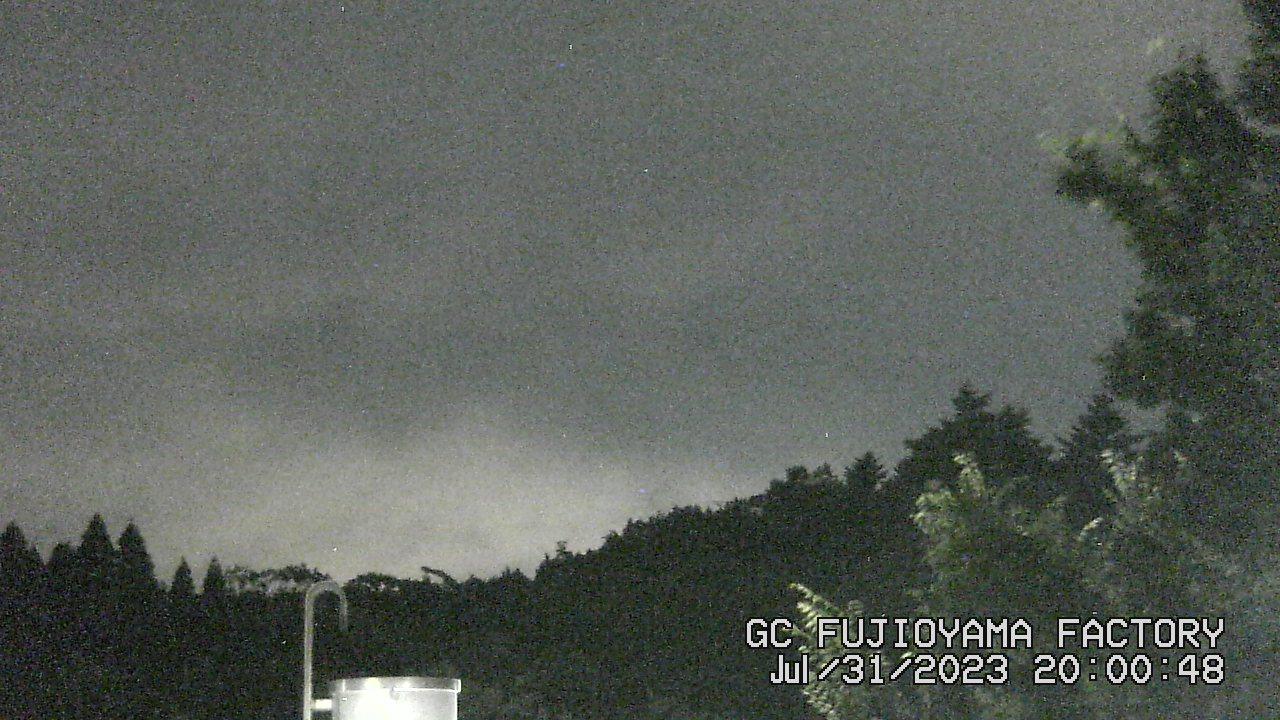 今日の富士山:3日前 PM08:00