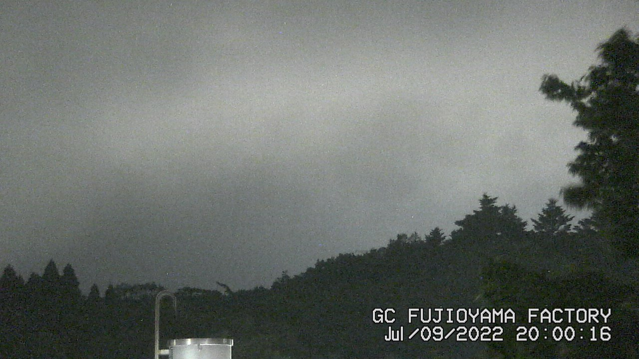 今日の富士山:4日前 PM08:00