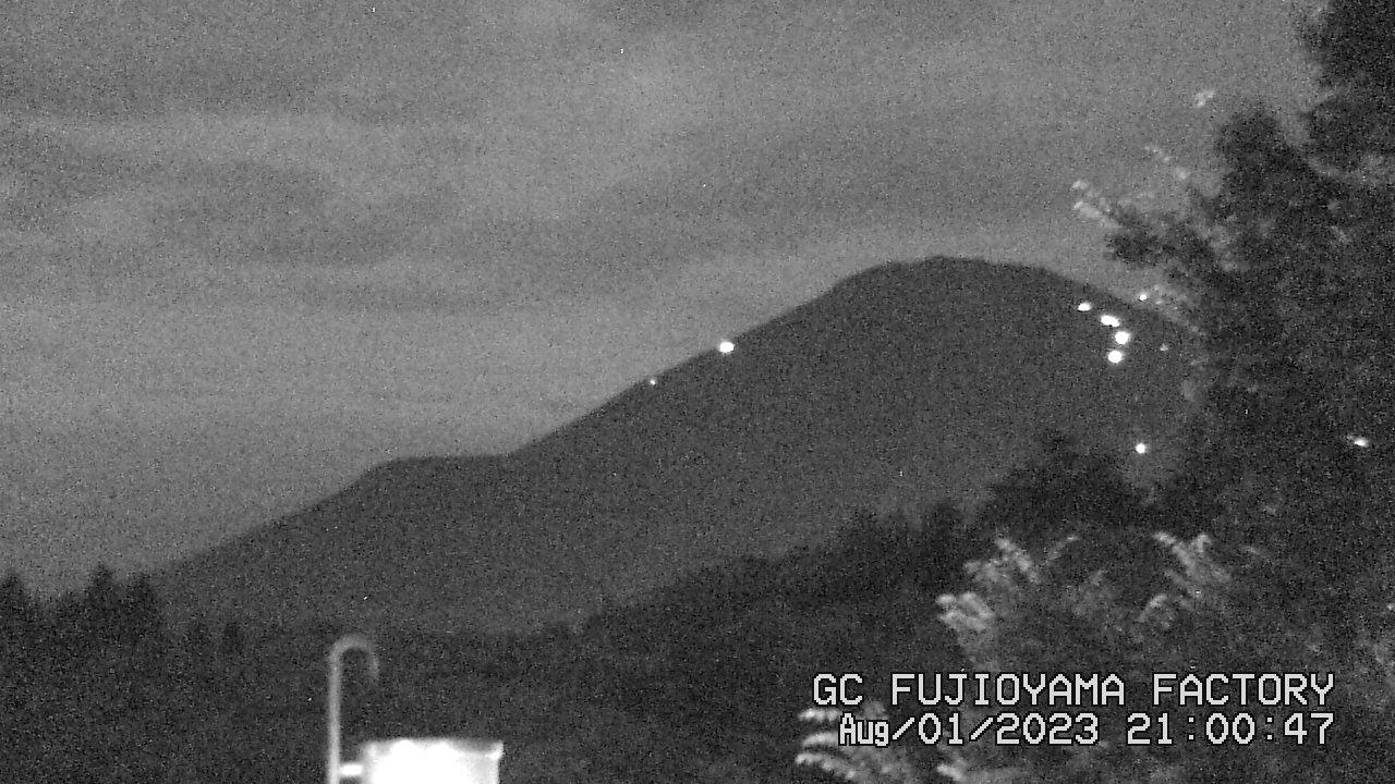 今日の富士山:4日前 PM09:00