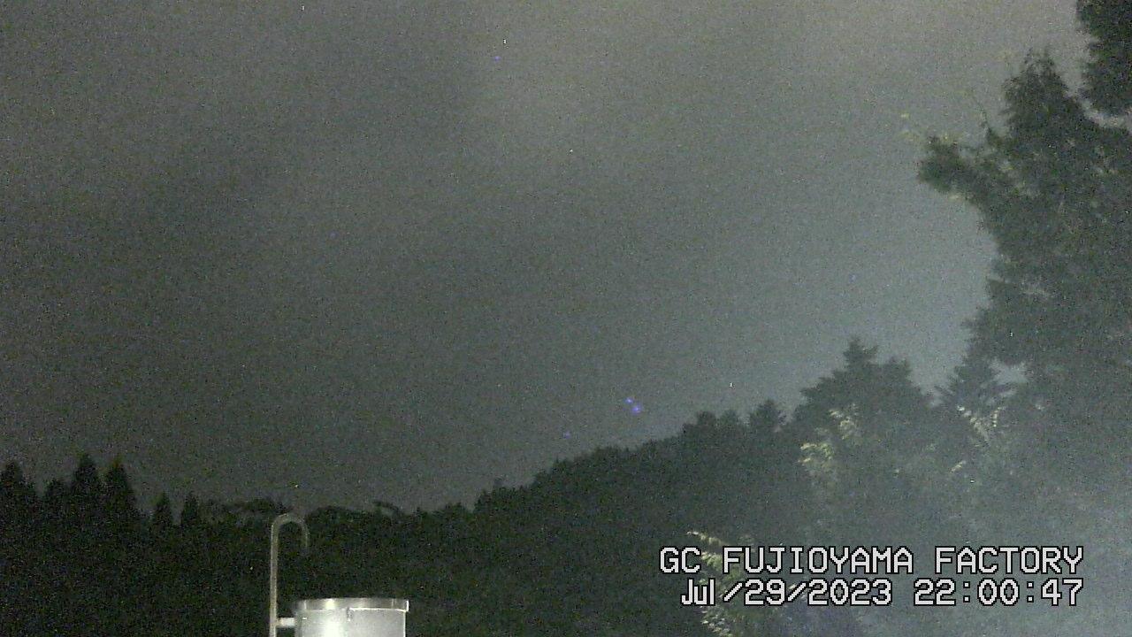 今日の富士山:6日前 PM10:00